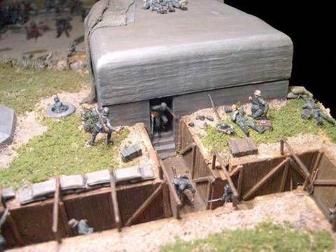 Diorama 1 72 2012 Bunker12 Military Diorama Diorama Model Train Scenery