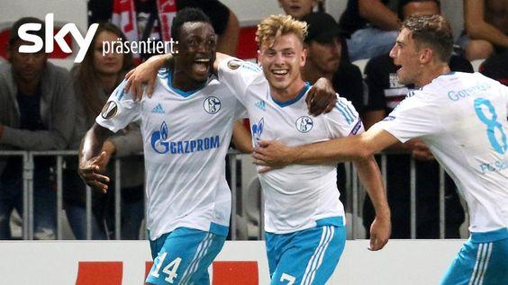 Die Highlights vom 1:0-Sieg der Schalker in Nizza. http://www.bild.de/sport/fussball/europa-league/schalke-siegt-balotelli-baba-47846736.bild.html