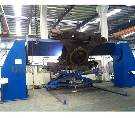 Double Column Positioner Tws Seriess Double Column Positioner Three Axies Welding Positioner Twb Type Three A Welding Positioner Welding Hydraulic Cylinder
