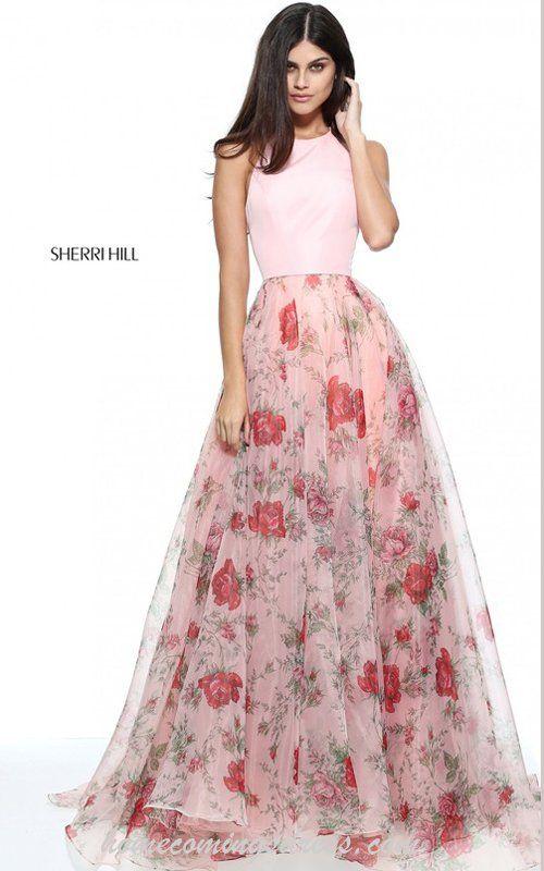F f floral print prom dress xs