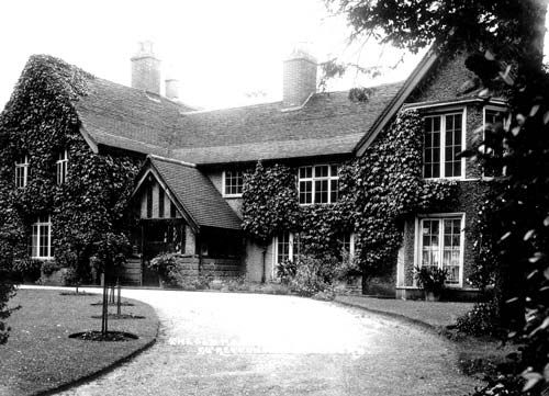 The Manor House during the 1930's