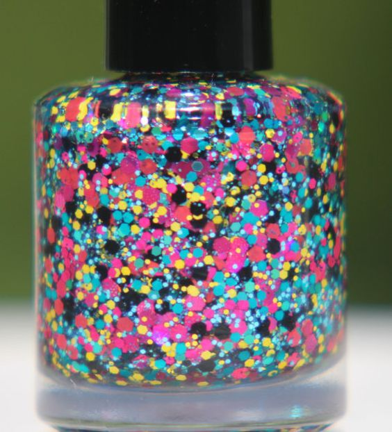 Summer Breeze handmade custom nail polish