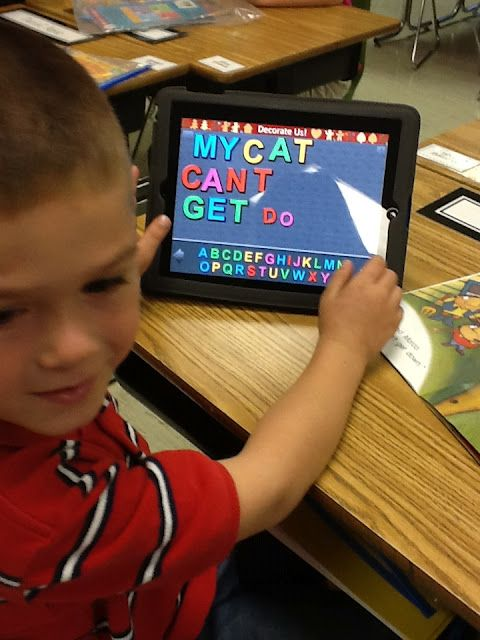 Queen of the First Grade Jungle: Pure Exhaustion App for ipad: magnetic letters
