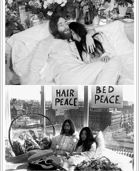 Hair Peace. Bed Peace.