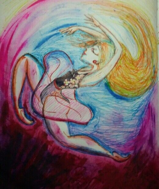 Work Color Colors Art Drawing Dance