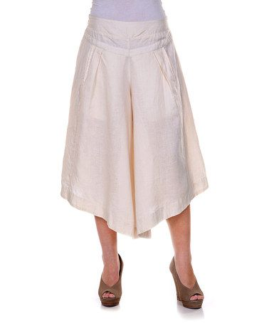 Gaucho pants, Gaucho and Linens on Pinterest