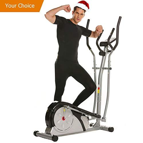 Elliptical Trainer Machine With Lcd Monitor Magnetic Control Mute