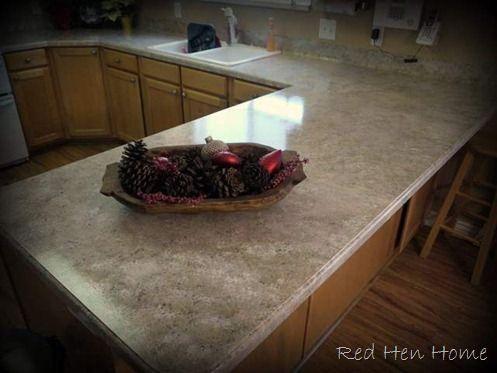 Painting laminate countertops to look like granite pinterest the