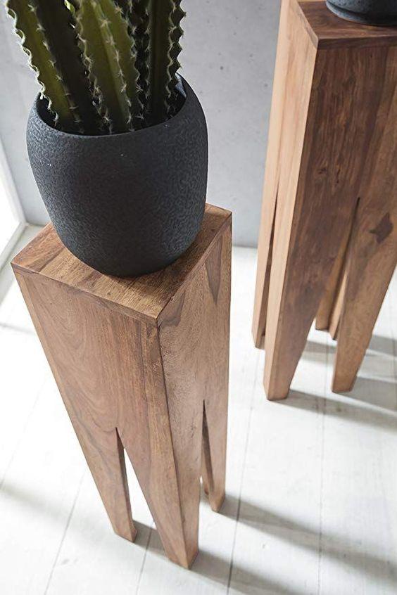 Wohnling Beistelltisch 3er Set Massivholz Akazie Wohnzimmer Tisch Design Soulen Landhausstil Couchtisch Quadratisch Holztisch Natur Wohnzimmer Ideen In 2019 Wohnzimmer Holztisch Natur Und Couchtisch Quadratisch