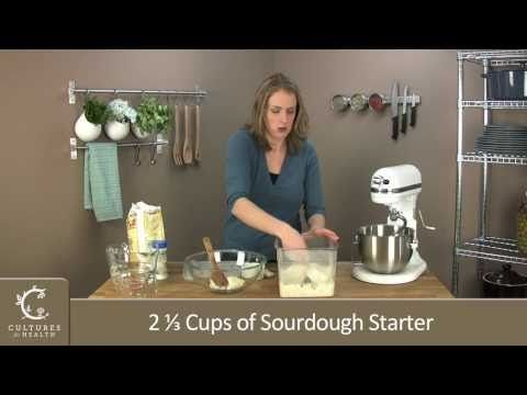Video- How to make sourdough bread.  Great resource for sourdough starter