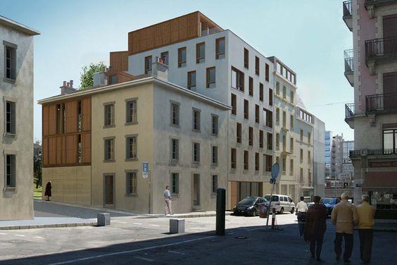 Logements Genève : Julien Joly Architecture