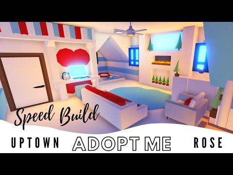 Adopt Me Estate House Pet Room | Adopt Me Speed Build | Adopt Me Building Hacks | Adopt Me Family -… | Baby Room Neutral, House Plans With Pictures, Cute Room Ideas