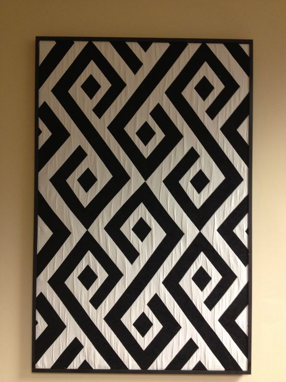 'Carat' design by De Leo as displayed at Showtime Dec 2012. I see lots of quilt…
