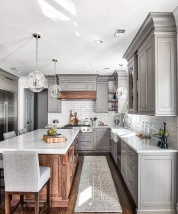 Kitchen Decorating Ideas On A Budget 19 Farmhouse Kitchens To Copy Kitchen Remodel Small Country Kitchen Farmhouse Small Farmhouse Kitchen