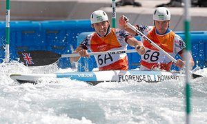 David Florence and Richard Hounslow of Great Britain win silver at Rio 2016 for…