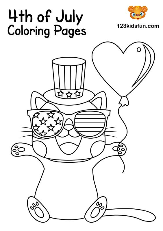 45+ Fourth of july coloring sheets trends