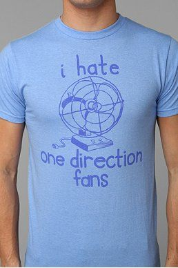 I don't hate One Direction fans but I love this shirt!