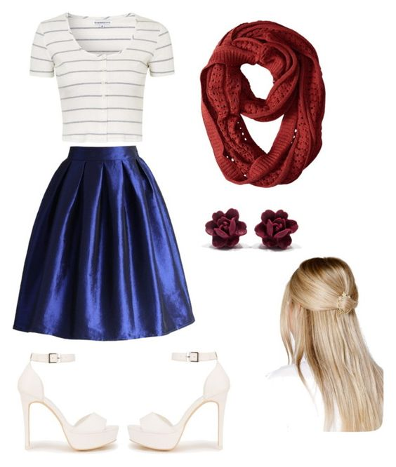 """""""Untitled #12"""" by slarabean ❤ liked on Polyvore featuring Topshop, Chicwish, Smartwool, Nly Shoes and Boohoo"""