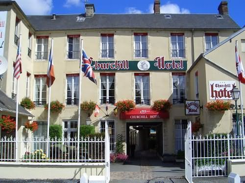 Churchill Hotel In Bayeux France Near Normandy Places I Would Like To Visit Pinterest And Norman