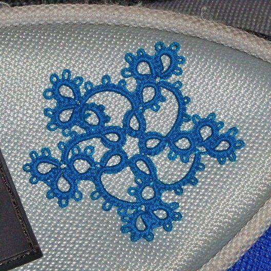 The Twirly variation, pattern Jon Yusoff