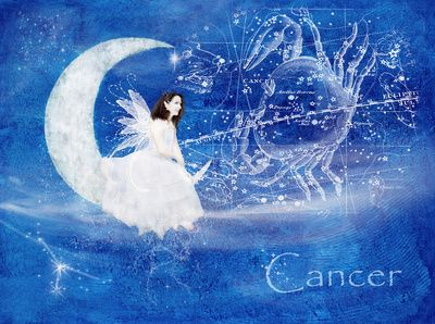 Cancer & The Moon Fairy by Laura George