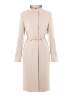 "Kate's cashmere MaxMara Studio coat is back in stock.  The coat was called the ""Belli"" but it's now been renamed the ""Kate"" in honour of the Duchess.  It costs £875, which is slightly less than it's RRP last year."