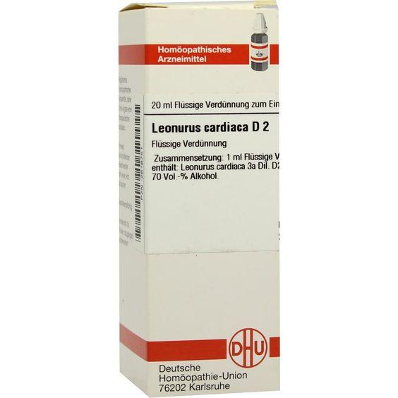 #LEONURUS cardiaca D 2 Dilution rezeptfrei im Shop der pharma24 Apotheken
