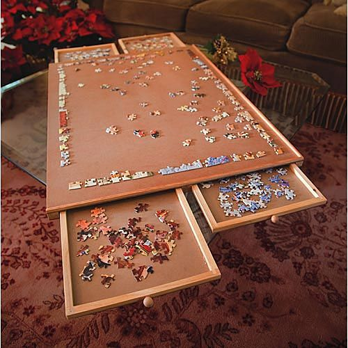Jumbo Wooden Puzzle Plateau Item 47272 74 99 A