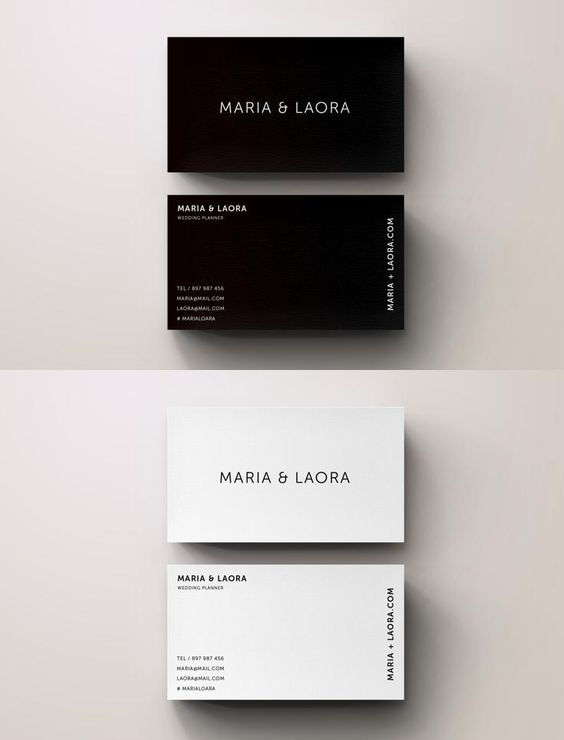 #businesscard #design from Blank Studio   DOWNLOAD: https://creativemarket.com/Blank_Studio/681045-Black-White-Modern-Business-Card?u=zsoltczigler