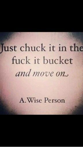 Just chuck it in the f8ck it bucket and move on