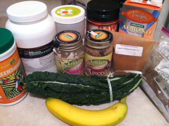 Green Smoothies Healthy Breakfast