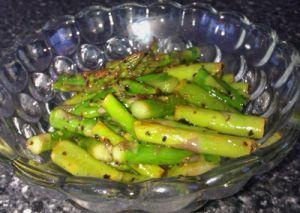 Asparagus Lemon Stir Fry is oh, so tasty! Good, low-fat recipe for fast weight loss. Bouari Clinic Huntsville, AL 35801