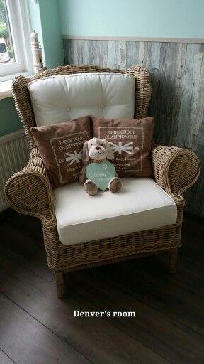 Babykamer (mintgroen) stoel om te voeden - Baby kamer  Pinterest