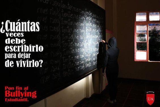 "campaña ""pon FIN al bullying"""