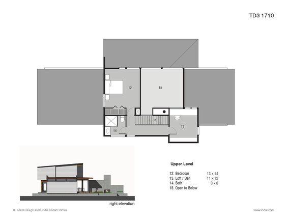 Turkel design plan library home cedar homes and lindal for Lindal cedar home plans