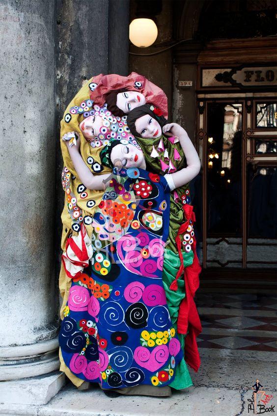 Gustav Klimt Costume at Carnival Venice