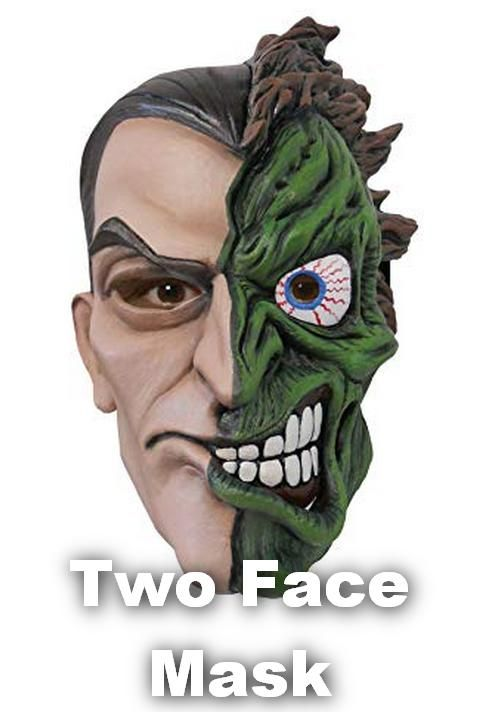 TWO FACE DC Comics Villain Licensed Adult T-Shirt All Sizes