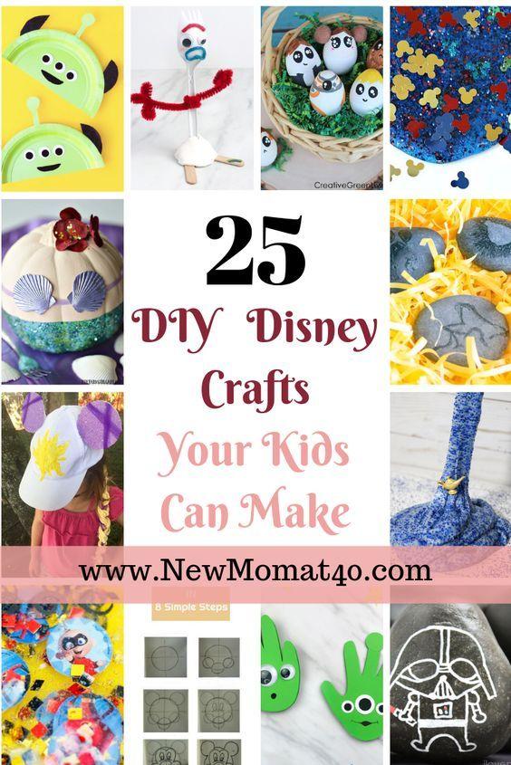 Diy And Craft Ideas Disney Crafts For Kids Disney Diy Disney Diy Crafts
