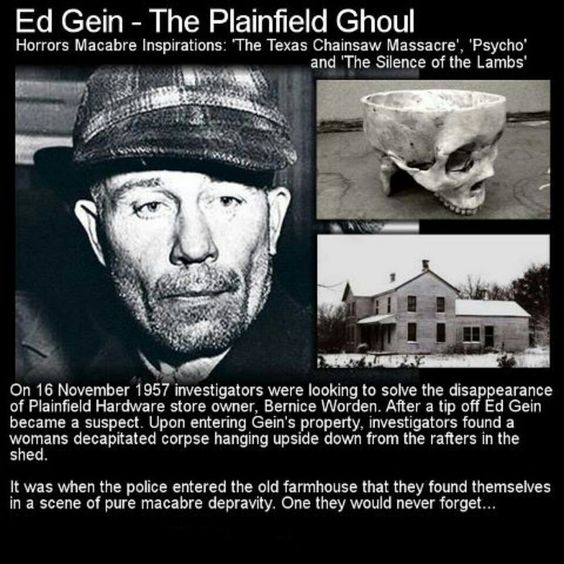 the truth about ed gein Watch the shocking truth on reelz   go to   to find reelz in your area connect with other fans: h.