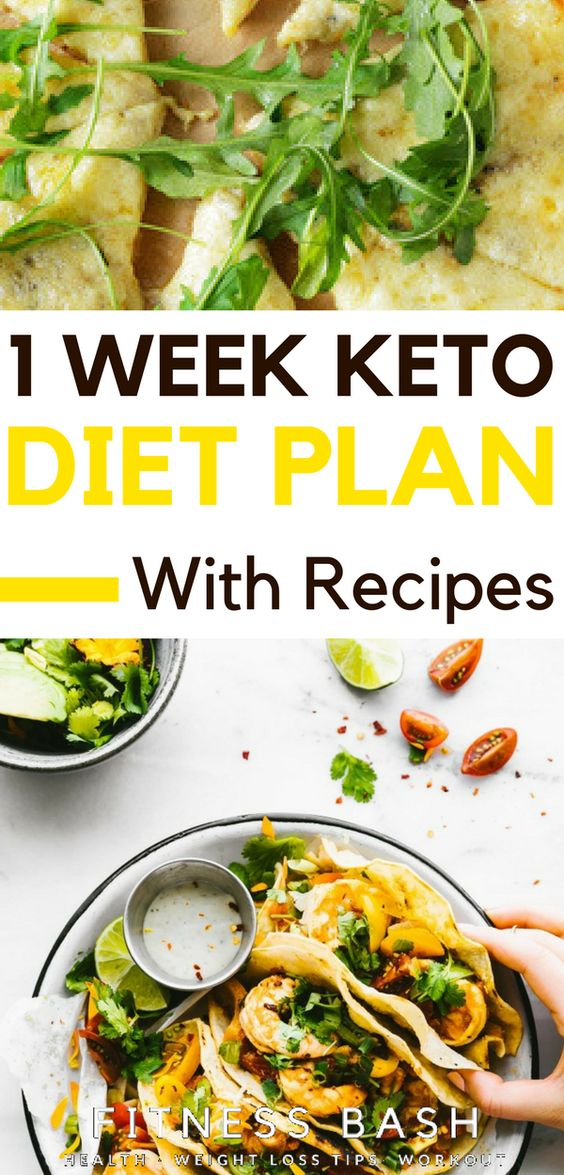 1 Week Keto meal plan with recipes. This 7-day meal plan is perfect if you want to test the ketogenic diet and see if it resonates with you.