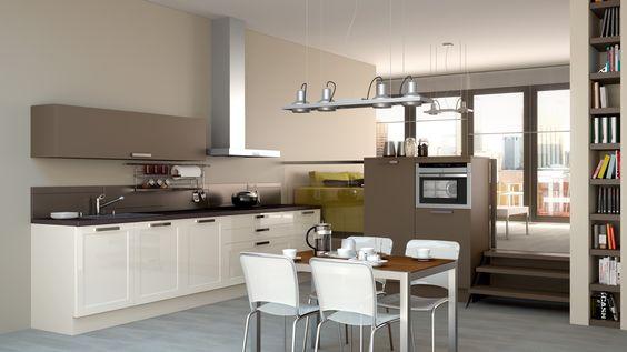 Schmidt keuken, type Mikado in combinatie met type Loft i...