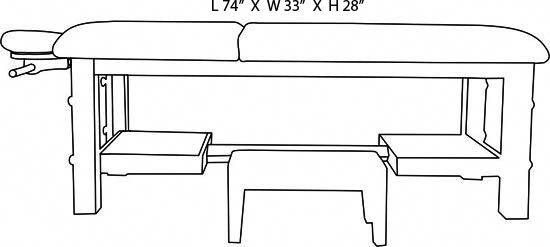 Dimensions Of Massage Table Google Search Awesomemassagetables
