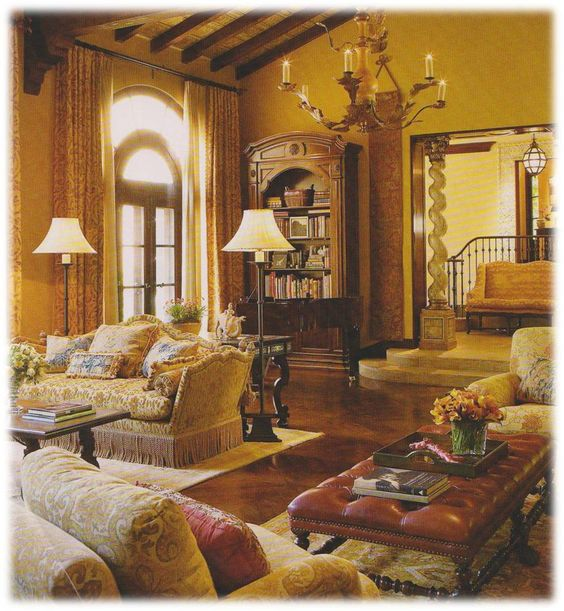 Best ideas about tuscan style rustic tuscan italian decor - Italian inspired living room design ideas ...