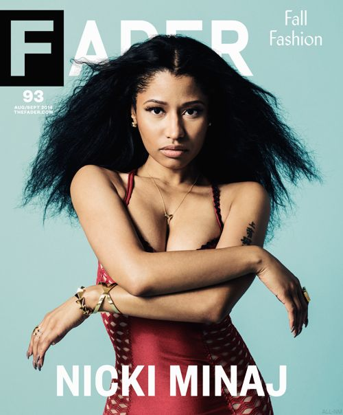 Nicki Minaj for FADER Magazine Aug/Sept 2014.  I love this side of her, especially her versatility in editorials