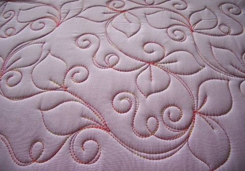 Sew-n-Sew Quilting: Starting with a Swirl - several free motion quilting designs