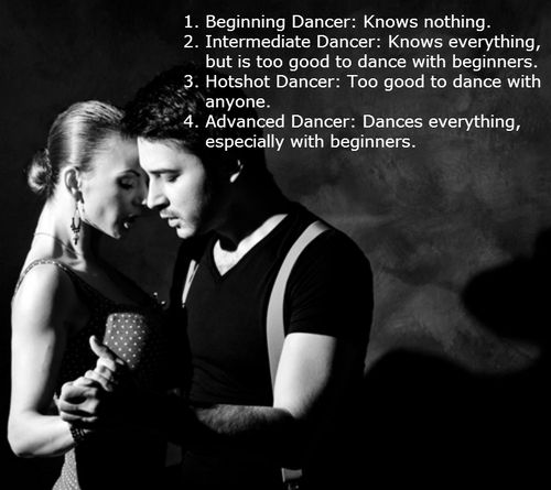 the different salsa dancers explained