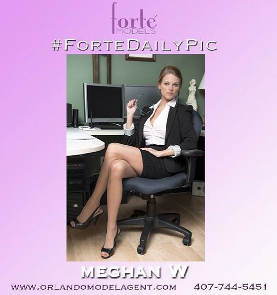 Forte Models presents the spellbinding Meghan W, one of our many Orlando models available for trade shows, print, and events. www.orlandomodelagent.com. #fortedailypic