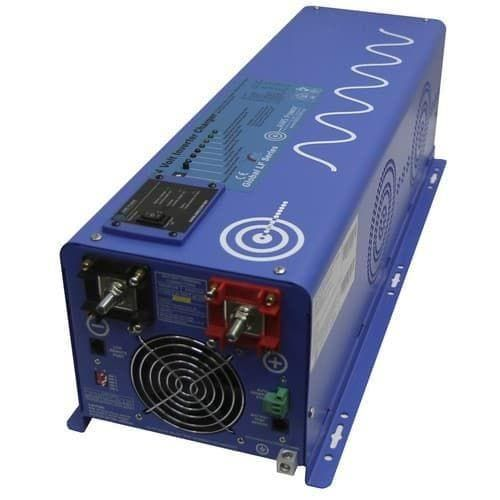 3300 Watt Solar With 6000 Watt Pure Sine Power Inverter Charger 120vac 48vdc In 2020 Battery Charger Power Inverters Power Saver