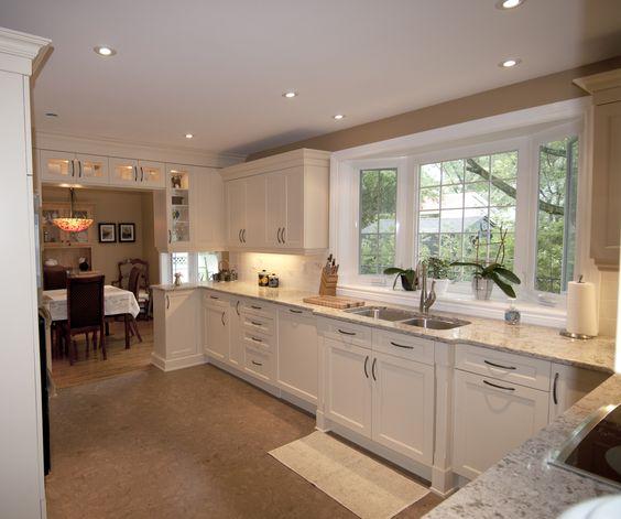 Kitchen Craft Lexington Maple Cabinets, Chamomile Lacquer