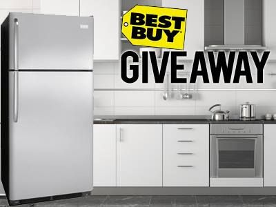 Your kitchen deserves a new stainless steel refrigerator! Enter our Best Buy giveaway now through Oct.13 for your chance to win.